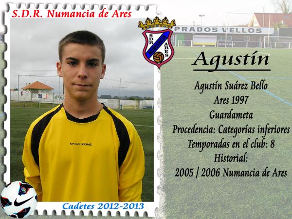 ADR Numancia de Ares. Agustín.