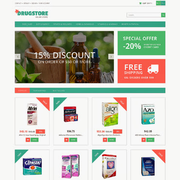 Medicine and Health PrestaShop #50725