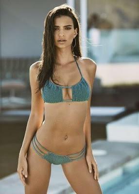 Emily Ratajkowski in Amore and Sorvete Windstar Bikini Top and Bottom