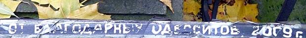 Ограда могилы И.Де Рибаса