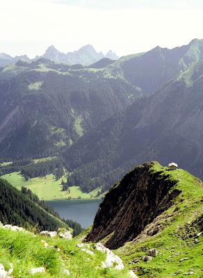 Tannheim Tirol - Blick vom Jubiläumsweg