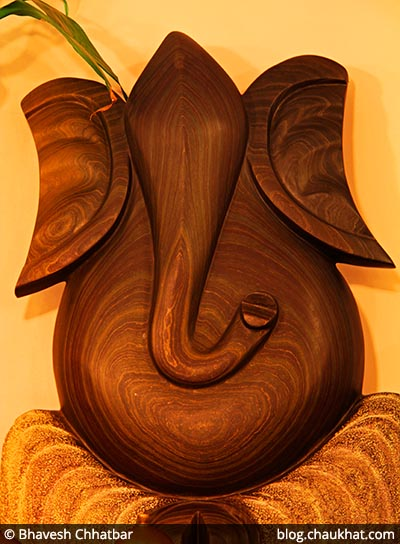 Ganpati Sculpture at Dezio, Kalyani Nagar, Pune