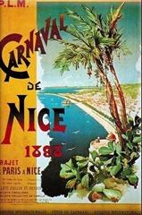 Carnaval de Nice affiche 1898