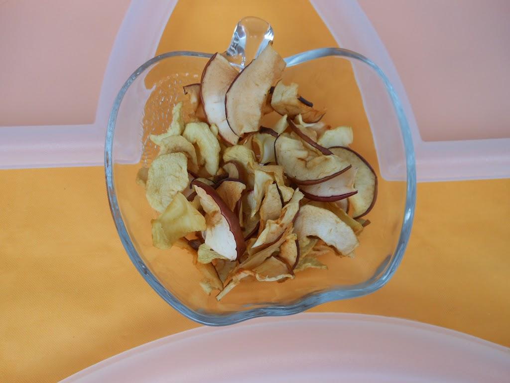 sušené jabĺčka - ščípky