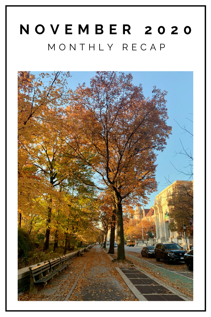 Click to read now or pin to save for later! Check out what I was up to in November in NYC