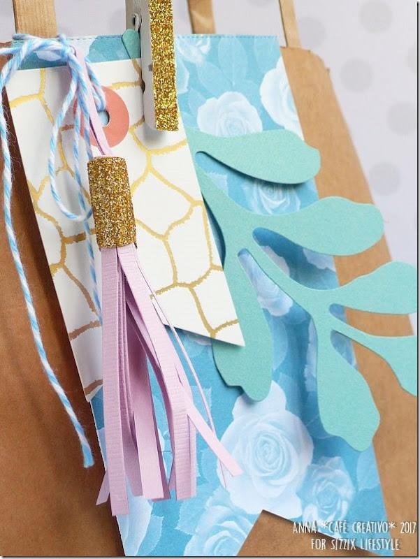 Usare Big Shot e Fustelle Sizzix per creare una busta regalo per la Festa della Mamma