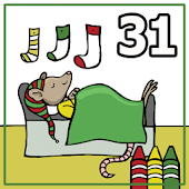 Coloring Book 31: The Night Before Christmas