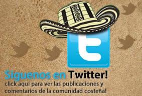 Cultura Costeña Siguenos en Twitter