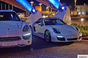 2014 Cayanne and Boxster