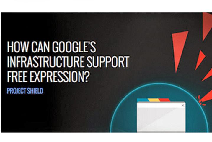 Google Project Shield, protegiendo la libertad de expresión en sitios web