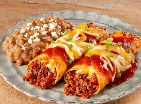 Quick Beef Enchiladas Recipe