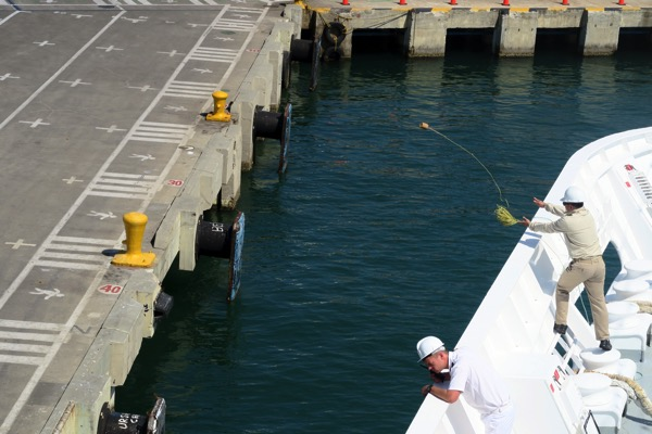 Cartagena Throwing Line
