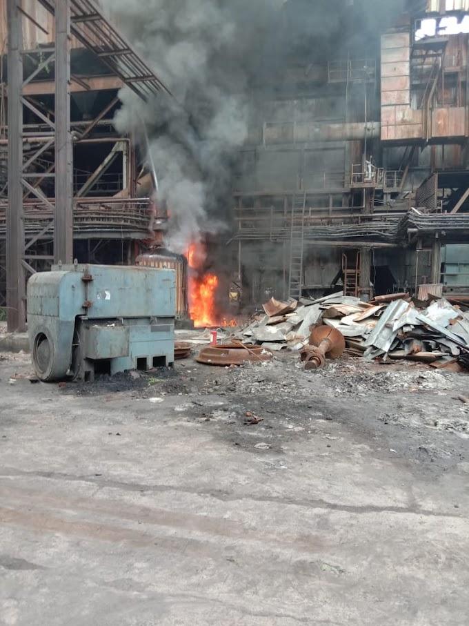 सिटीपीएस मधील युनिट इन्चार्जच्या निष्काळजीपणामुळे लागली आग, कामगारांमध्ये चर्चा !