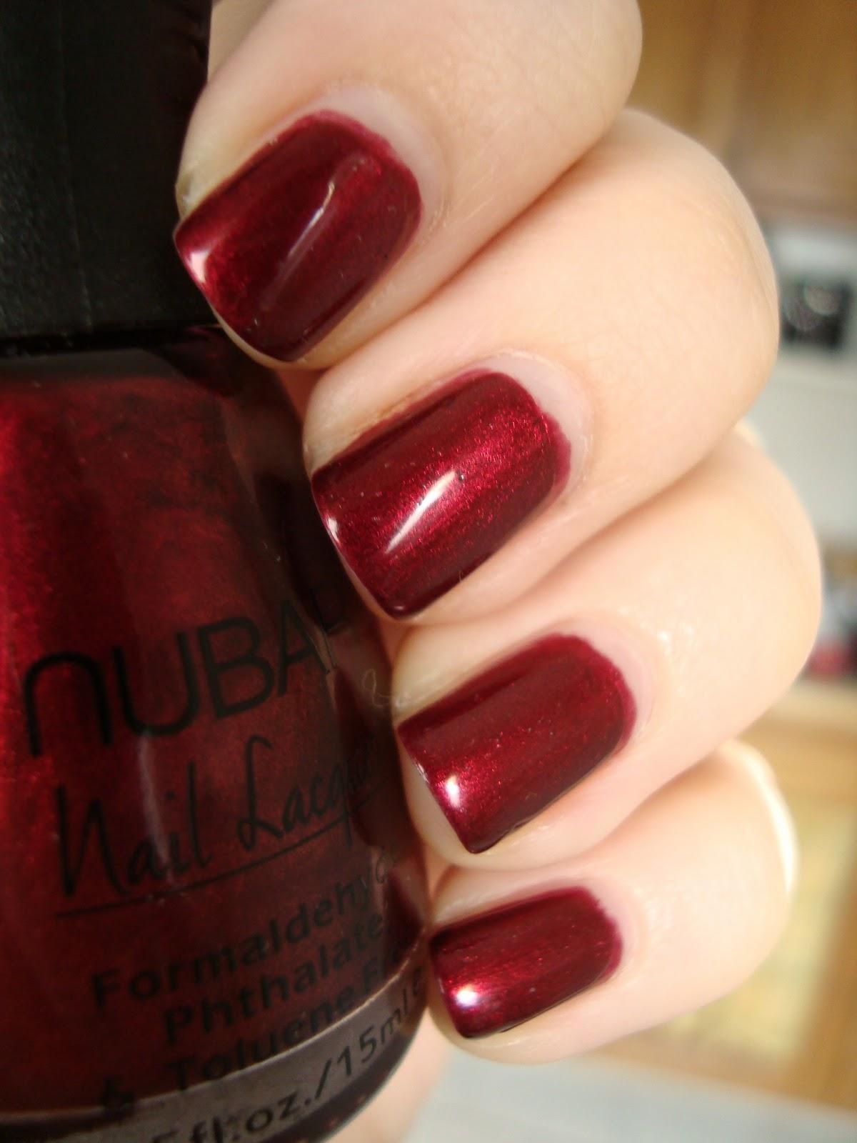 Short \'n Chic: Nubar Torrid Red (Sex in Polish Form)