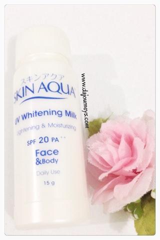 Review Skin Aqua UV Whitening Milk