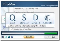 تحميل برنامج DiskMax لتسريع وتنظيف الويندوز -1