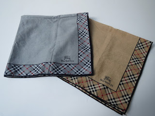 Burberrys Handkerchief Pair