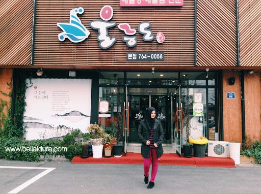 tempat makanan sedap di korea