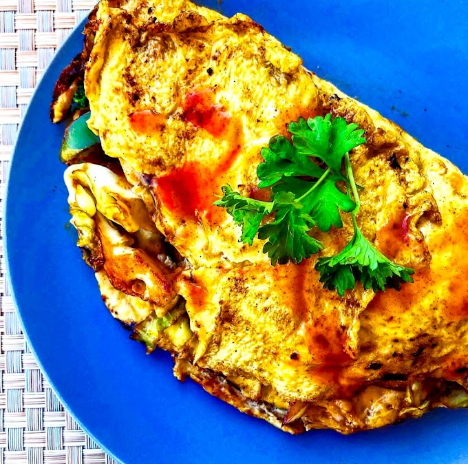 Chinese Omelette/ Egg Foo Young Recipe | Breakfast Care