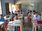 A class in the junior section of the project secondary school