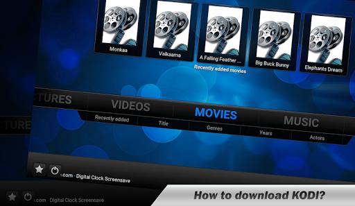 Guide TV Movie Kodi 1.0 screenshots 1