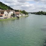 La Seine en amont