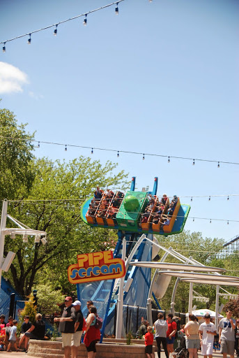Pipe Scream, a new ride this year. From The Complete Guide to Visiting Cedar Point