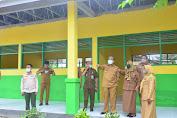 Dollah Mando Pantau Pelaksanaan Renovasi Sekolah di Panca Lautang