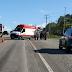ACIDENTE NA BR-230: motociclista morre ao colidir com carreta, no Conde
