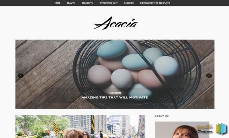 Acacia-Blogger-Template