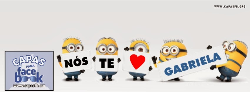 Capas para Facebook Gabriela