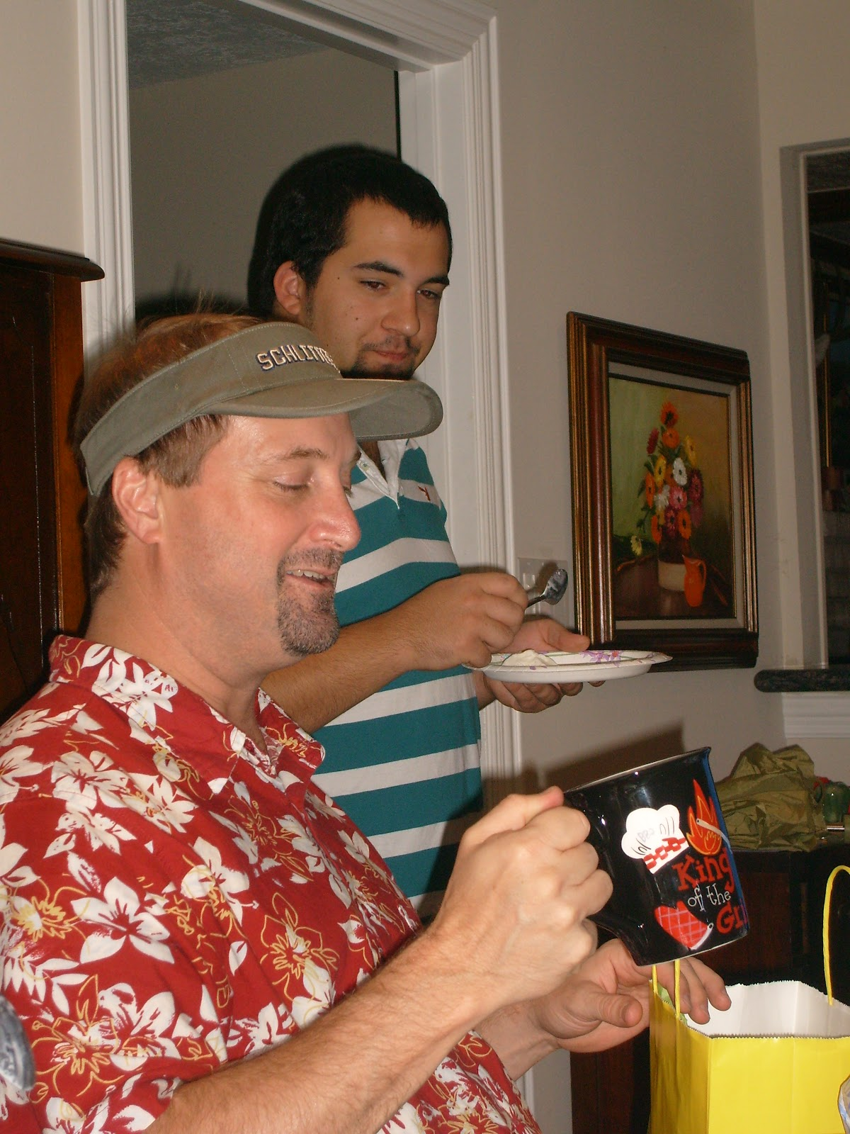 August Birthdays Party 2007 - S7300395.JPG