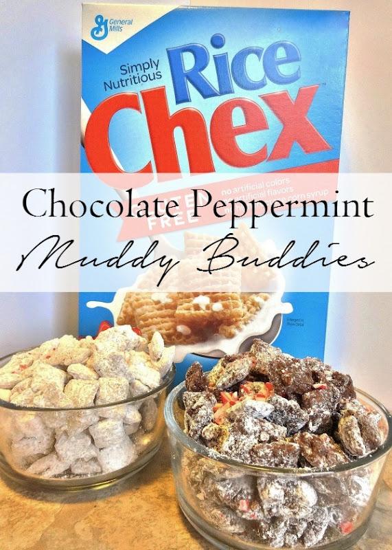 Such Yummy Chocolate Peppermint Muddy Buddies #WinCoCheer #ad