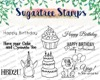 Sugartree Stamps - Party Animal