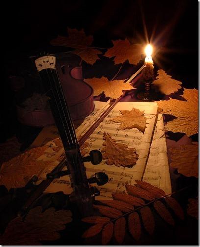 otoño violin