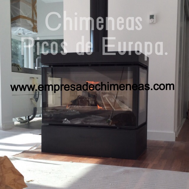 Chimeneas picos de europa enero 2016 for Cassettes para chimeneas