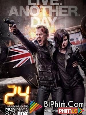 Phim 24 Giờ Sinh Tử: Sống Thêm Ngày Nữa 9 - 24: Live Another Day season 9 (2014)