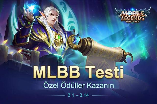 Mobile Legends  Test Etkinliği