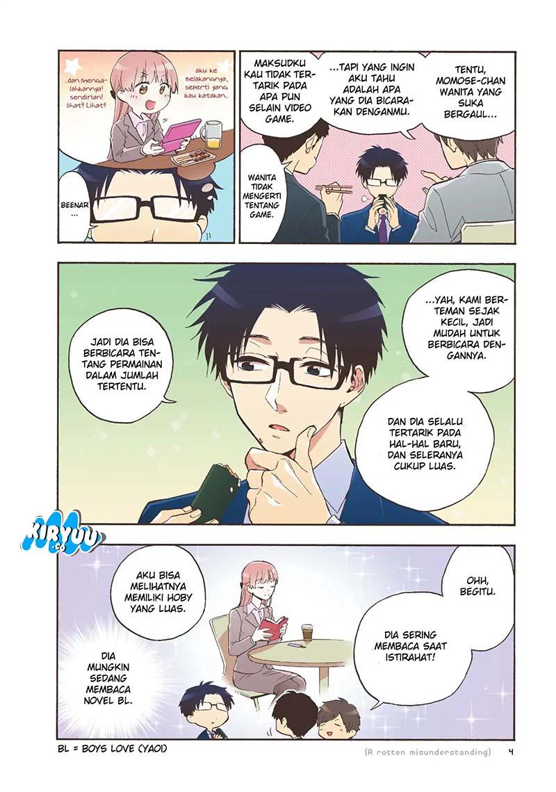 Wotaku ni Koi wa Muzukashii Chapter 31-7