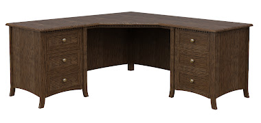 Lisbon L-Shaped Desk