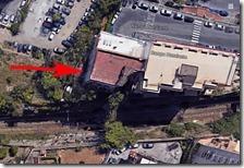 Il palazzo ripreso da Google Maps