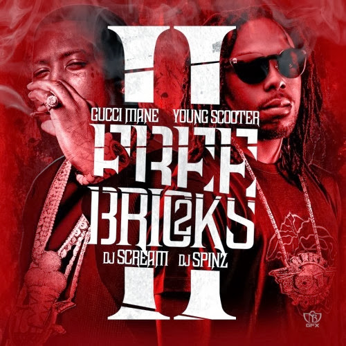 Cover of Gucci Mane & Young Scooter Free Bricks 2 Mixtape Mp3 Songs Free Download Listen Online at alldownloads4u.com