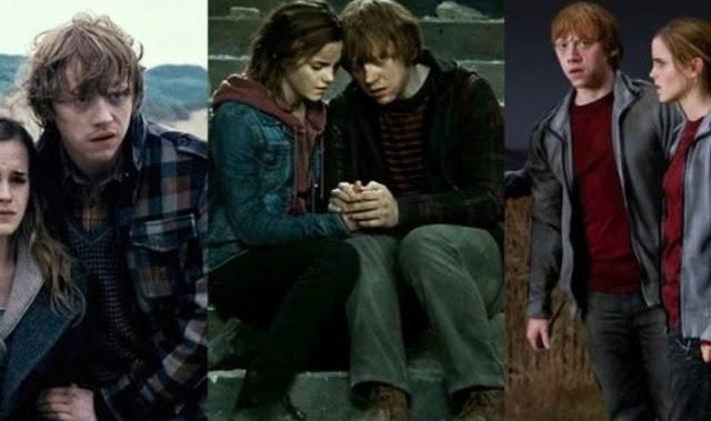 Harry Potter: 10 cenas que provam que Rony e Hermione eram almas gêmeas