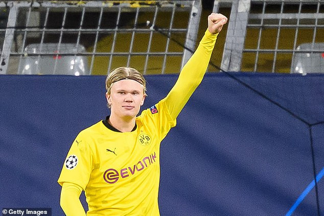 Borussia Dortmund striker, Erling Haaland surpasses legends Ronaldo and Zinedine Zidane in Champions League goalscoring charts at the age of 20