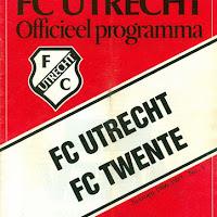 FCU Programmaboekjes 1986-87
