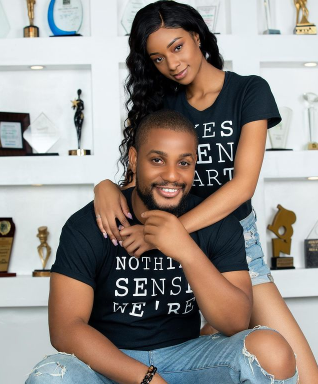 """""""Our wedding is happening this year""""- Alex Ekubo says after proposing to his fiancée, Fancy Acholonu"""