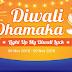 SHAREit Diwali Dhamaka - Refer Friends & Win Prizes (Amazon Vouchers, Mi Powerbank etc)