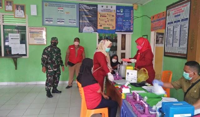 240 Orang Ikut Pelaksanaan Gebyar Vaksin Covid-19 di Tingkat Kelurahan Sukabumi