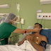 Em Sobral, casal de profissionais de saúde oficializam noivado em leito de UTI