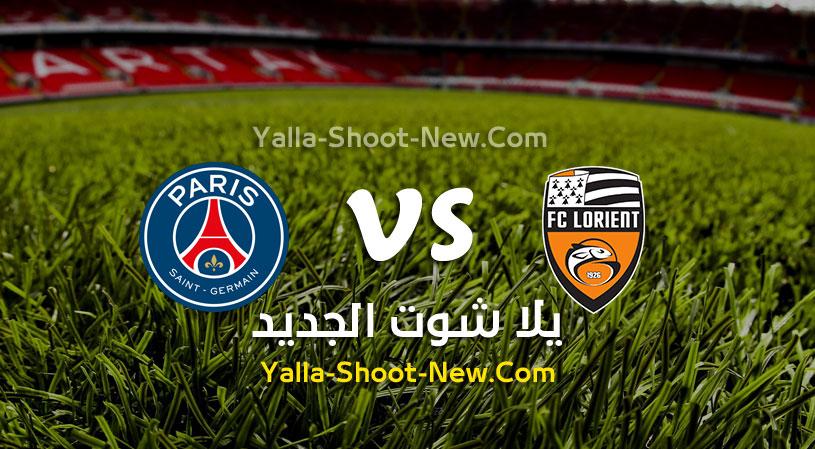 مباراة باريس سان جيرمان ولوريان